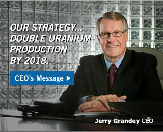 Jerry Grandy CEO Message
